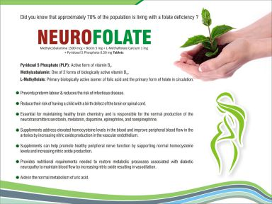NEUROFOLATE - Daksh Pharmaceuticals Private Limited