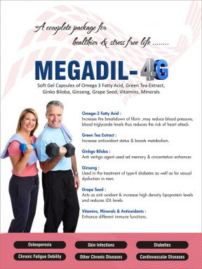 MEGADIL-4G - Daksh Pharmaceuticals Private Limited